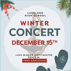 2020 Winter Concert Program