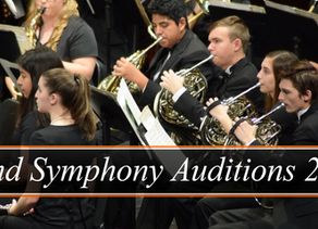 Wind Symphony Auditions 2020