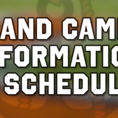 Crank-Up Band Camp Schedule & All Info 2021