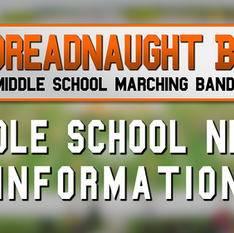 2021 Middle School Band Night Info