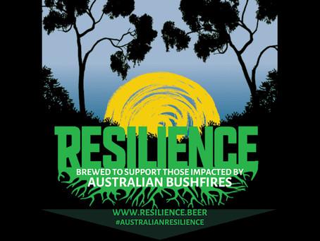 Resilience Beer for Australian Bushfire Relief