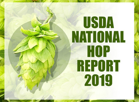 The USDA National Hop Report 2019