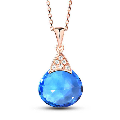 transparent zircon line colors pendant image dazzling product simple invisible products fishing necklace