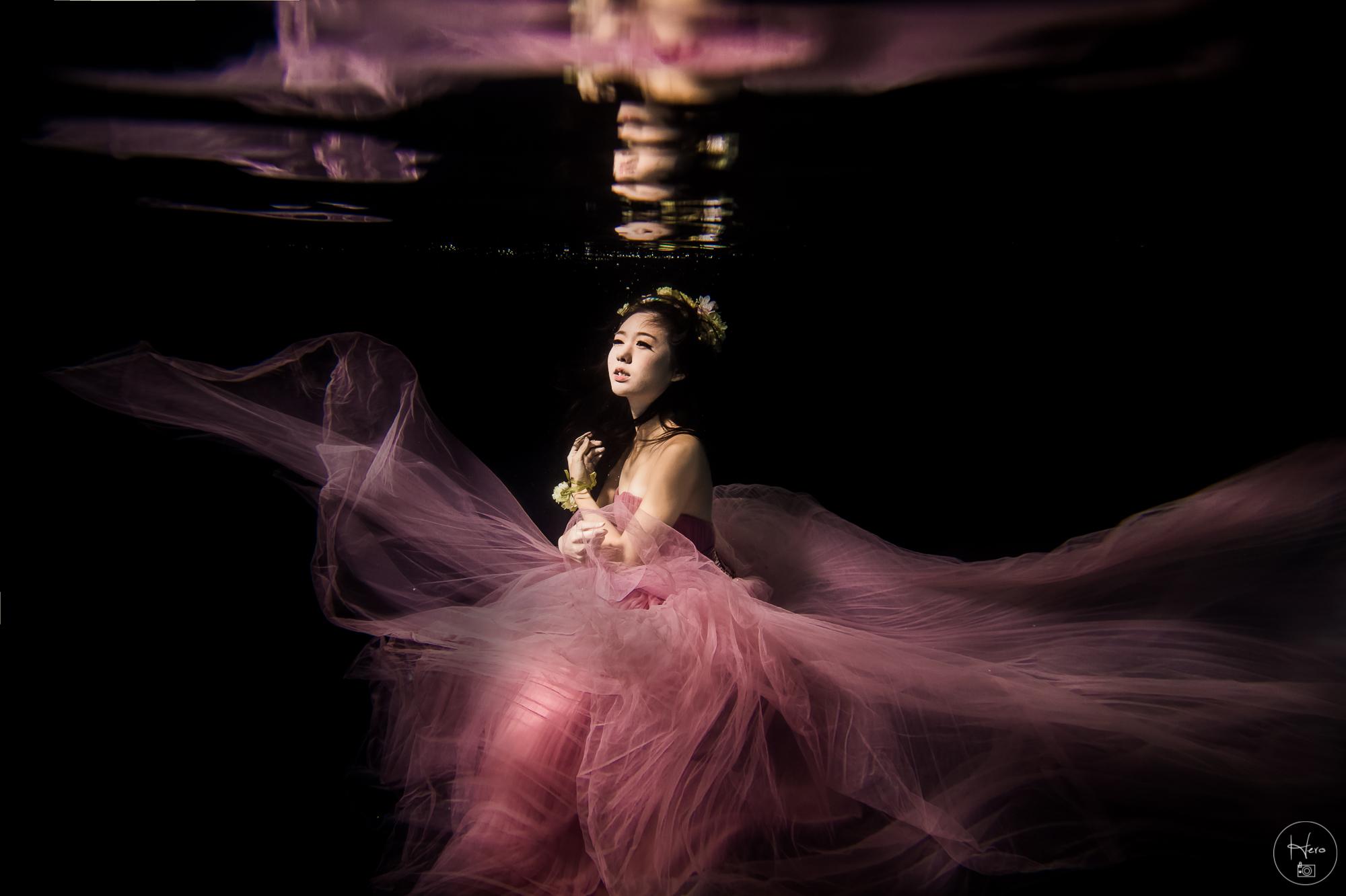 水中婚紗 (6)