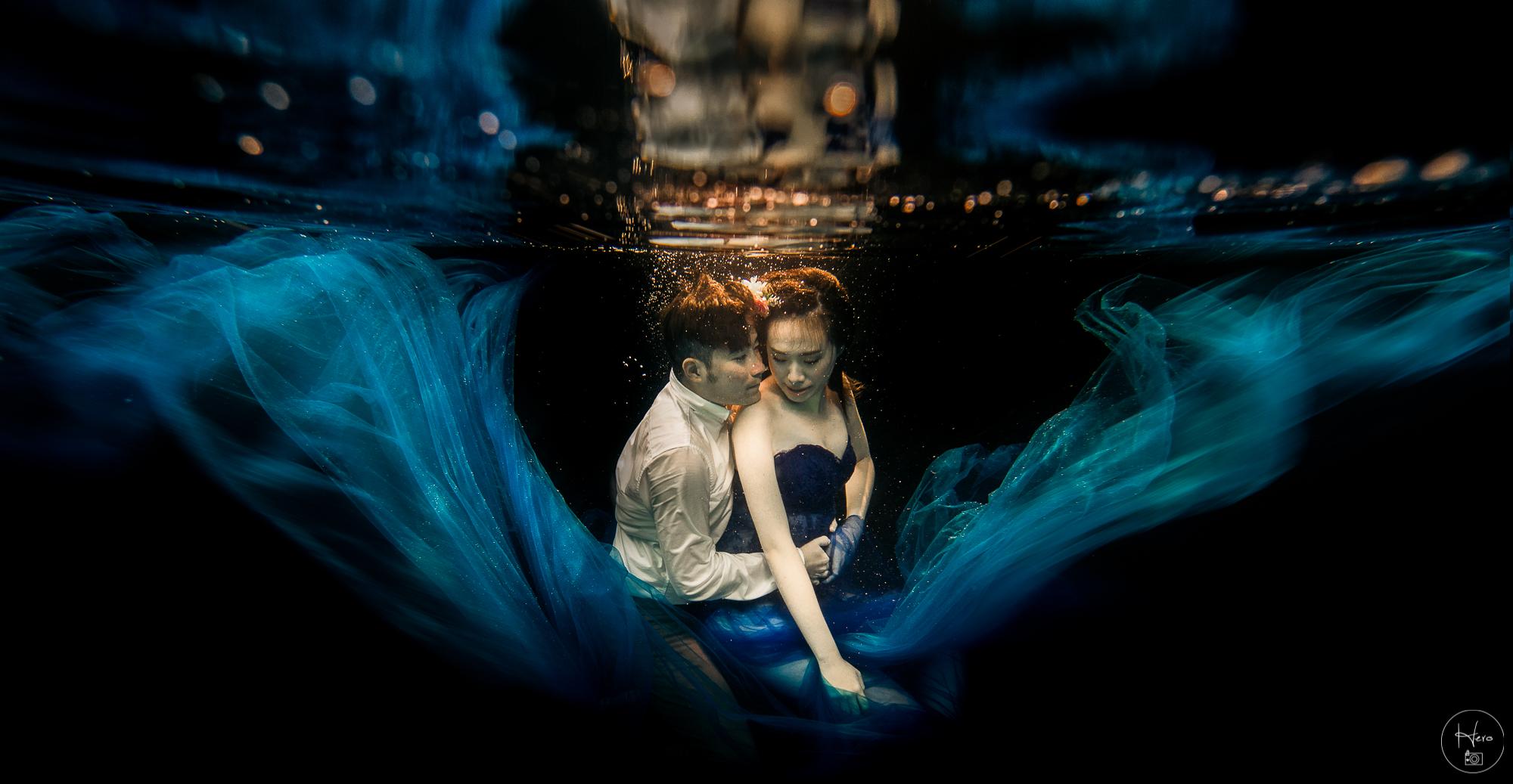 水中婚紗 (8)
