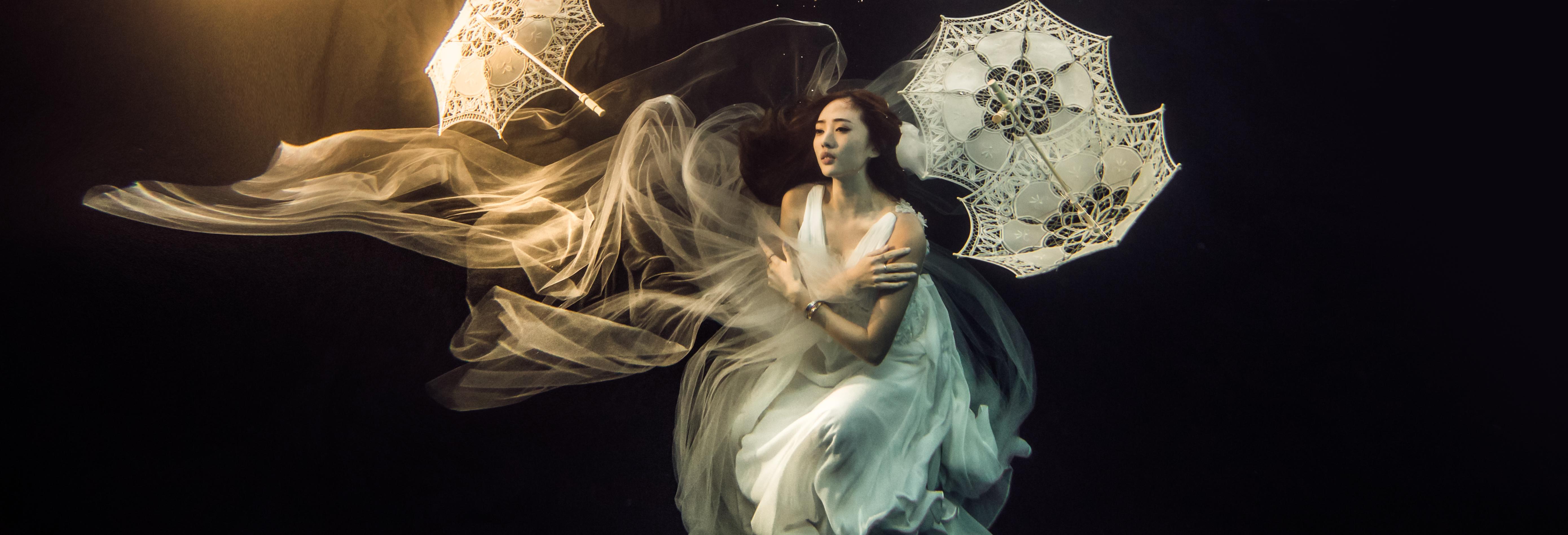 水中婚紗 (14)