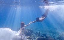 水中婚紗 英雄薛