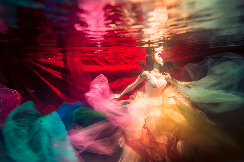 水中婚紗 (1)