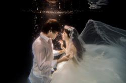 水中婚紗 (13)