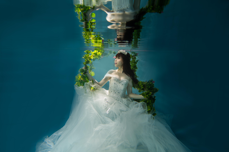 水中婚紗 (11)