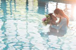 水中婚紗 (3)