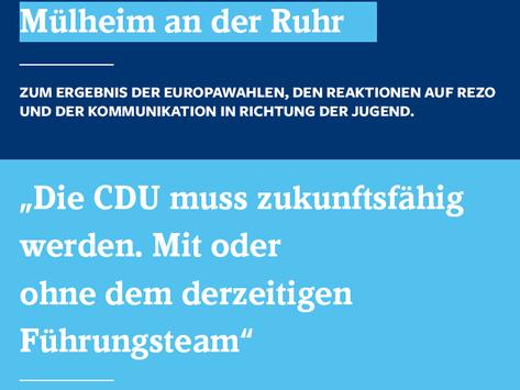 Statement zur aktuellen Verfassung der CDU Deutschlands