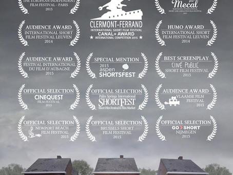 De Smet - short film wins the Audience Award at the Vlaamse Film Festival - VFF (Utrecht, NL)!