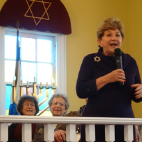 Judith speaking in 2014