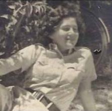 Judith in Israel aged 16