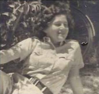 Judith Dim Evans in Israel aged 16.png