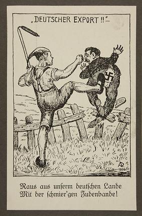 Antisemitic propaganda of an agricultura