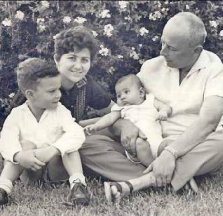 Judith, Chiam Dim and Family