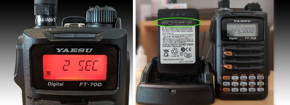Qué hacer, para lograr una mayor eficiencia de Batería en el Yaesu FT-70DR