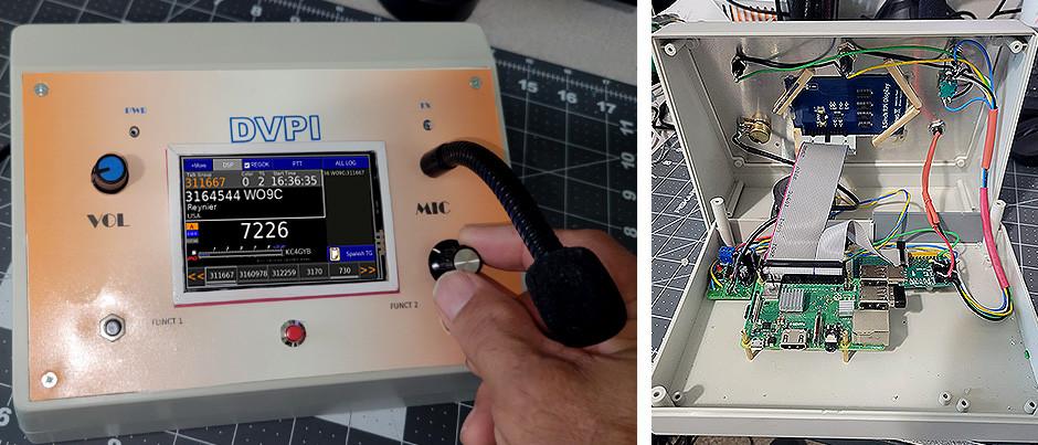 Construcción de un DVPi-DVSwitch, radio transmisor casero de modo digital, por Claudio-AB4OD