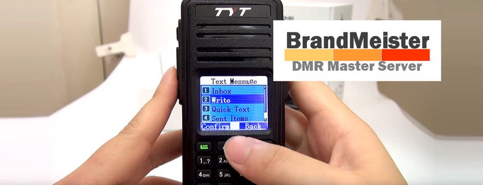 BrandMeister - Mensajes de texto