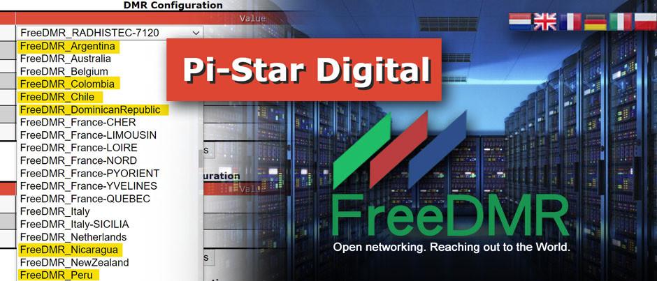 Países hispanos se van sumando a la nueva Red Digital de DMR, llamada FreeDMR