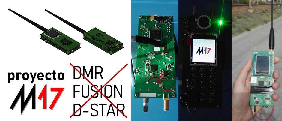 ¿Qué es el Proyecto M17?, que busca reemplazar los protocolos digitales de DMR, Fusion, D-Star, etc.