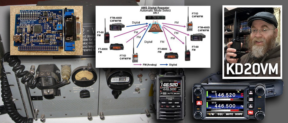 Radio Digital móvil en el ámbito de Radio Amateur, por Axel Hafter-KD2OVM