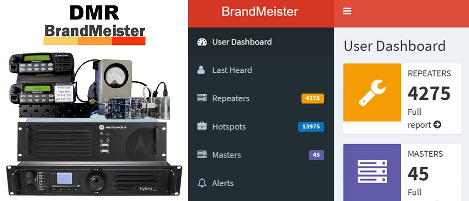 Cómo registrar un repetidor en la red de DMR Brandmeister, por Fernando-CX4AE.