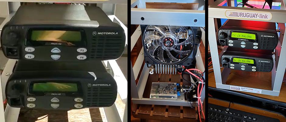 Construcción de Repetidora de UHF Multimodo de DMR-C4FM, por Fernando-CX4AE