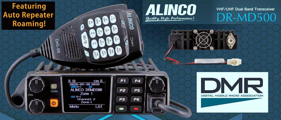 NUEVO - Radio Móvil Digital de DMR Alinco DR-MD500