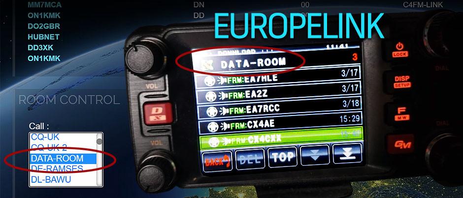 Como subir un audio al Data Room de Europelink, con un FTM 400 utilizando una repetidora y Pi-Star