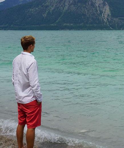 Merlin Witt, Achtsamkeitstrainer, Blick auf den Walchensee