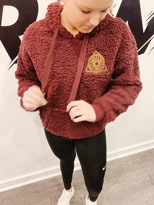 Wine sherpa jacket