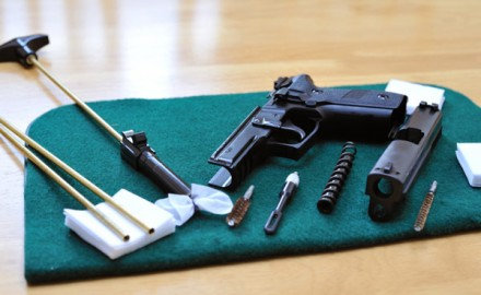 Basic Firearm Cleaning - Handgun