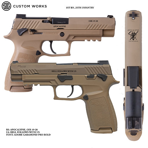 SIG P320 M17 1ST BN 25TH INFANTRY