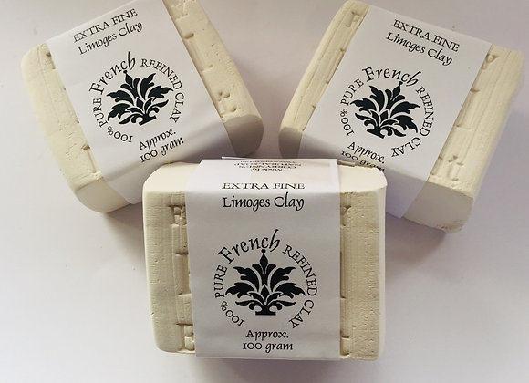 Corrynne's  100% Pure French Refined Clay Facial Exfoliant Block