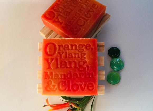 Corrynne's Natural Soap - Orange, Ylang Ylang, Mandarin & Clove