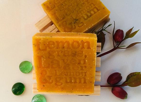 Corrynne's Natural Soap - Lemongrass, Lavender & Lemon Gum