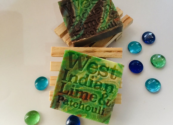 Corrynne's Natural Soap - West Indian Lime & Patchouli