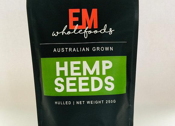 Australian Grown Hulled Hemp Seeds - 250g