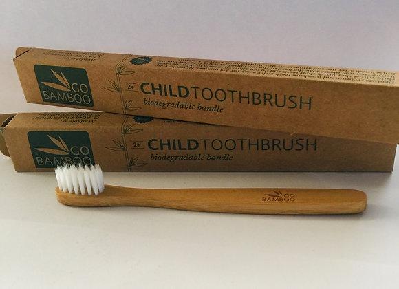 Go Bamboo Child Toothbrush
