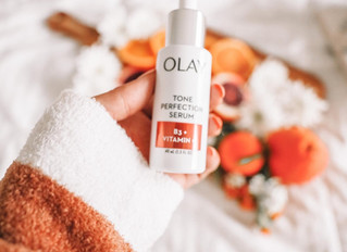TRYING OUT OLAY TONE PERFECTION SERUM WITH B3 + VITAMIN C