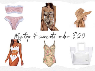 4 Swimsuits All Under $20