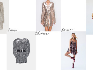 Sequin Dresses for the Holidays