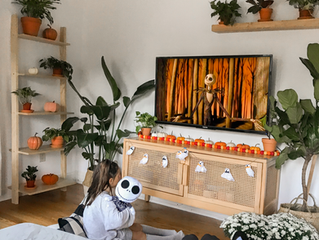 Fall Home Decor- Just Enough Spooky