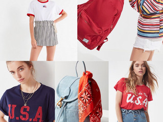 LAST MINUTE FOURTH OF JULY LOOKS