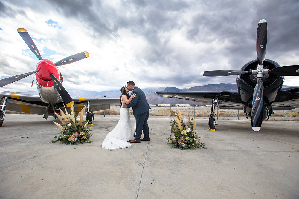Palm Springs Wedding Planner, Palm Springs Wedding Coordinator, Palm Springs Air Museum