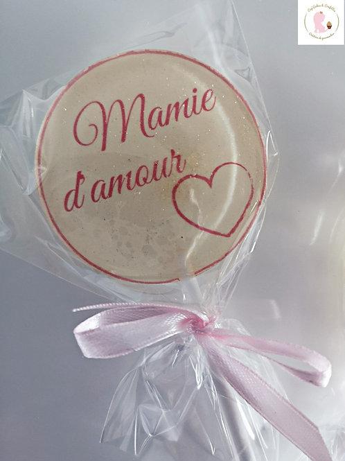 Sucette Mamie d'amour