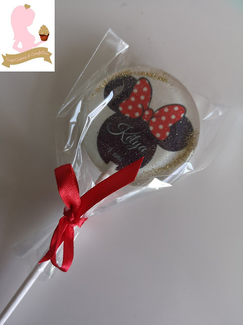 10 sucettes Minnie